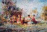 Restful 44x32 Original Painting by Eva Makk - 0