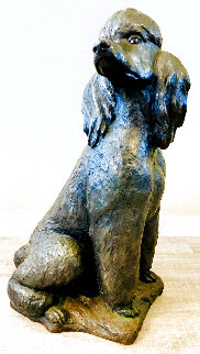 True Companion Bronze Sculpture 2005 32 in Sculpture - Terri Malec