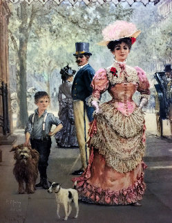 Rags And Riches 1993 Limited Edition Print by Alan Maley