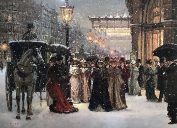 Opening Night 1988 Limited Edition Print by Alan Maley