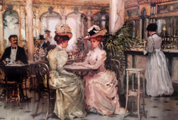 Tell Me 1995 Limited Edition Print by Alan Maley