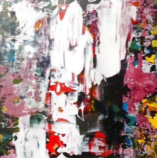 Untitled Painting 2014 12x12 Original Painting - Daniel Maltzman
