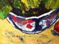 Untitled Still Life 35x33 Huge Original Painting by Omar Malva - 3