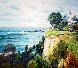 Beachscape 1986 35x39 Original Painting by Malva Severios - 0