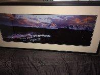 First Light - Grand Teton Panorama by Thomas Mangelsen - 2
