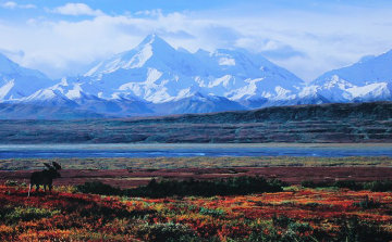 September Snows      (Alaska) Panorama - Thomas Mangelsen