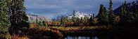 Alpine Reflections 2003 Panorama by Thomas Mangelsen - 0