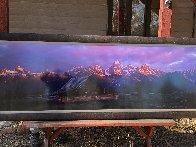 Teton Memories: The Moulton Barn  2M Super Huge Panorama by Thomas Mangelsen - 2