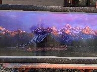 Teton Memories: The Moulton Barn  2M Super Huge Panorama by Thomas Mangelsen - 3