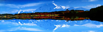 Reflections of Denali - Super Huge Panorama - Thomas Mangelsen
