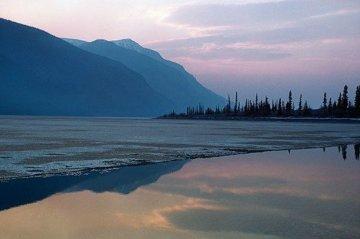 Yukon Lake Panorama by Thomas Mangelsen