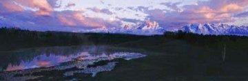 First Light - Grand Teton Park Panorama - Thomas Mangelsen