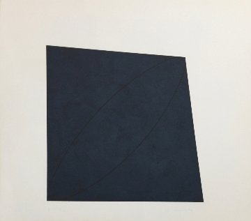 #10 Attic Series II 1991 Limited Edition Print by Robert Mangold