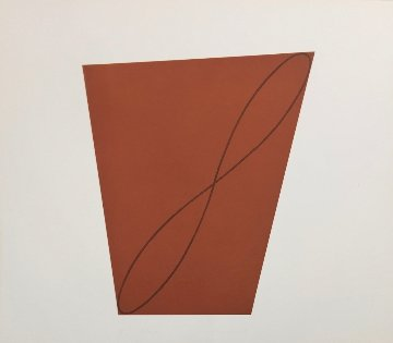 #9 From Attic Series II 1991 Limited Edition Print by Robert Mangold