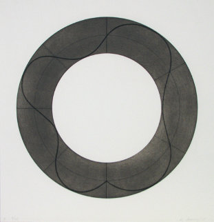 Ring Image B 2008 Limited Edition Print by Robert Mangold
