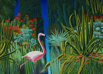 A Garden To Behold PP Limited Edition Print - Bob Marchant