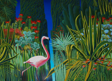A Garden to Behold Limited Edition Print by Bob Marchant