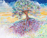 Treescape 29x16 Original Painting by Marcia Baldwin - 0