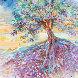 Treescape 29x16 Original Painting by Marcia Baldwin - 1