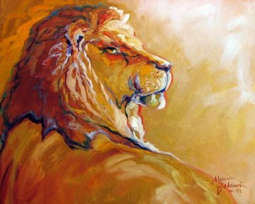 King 2009 Limited Edition Print - Marcia Baldwin