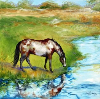At the Waters Edge 2011 Limited Edition Print - Marcia Baldwin