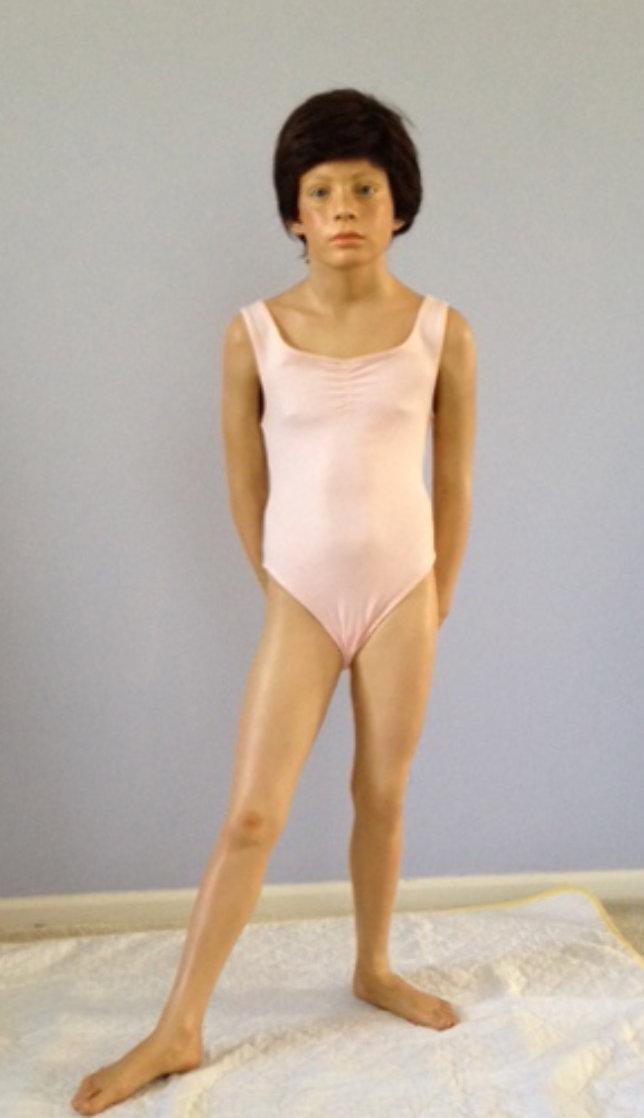 Young Dancer Life Size Unique Resin Sculpture 1993 Sculpture by Marc Sijan