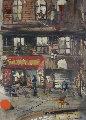 Ball Yard 2003 36x24 Original Painting - Marcus Antonius Jansen