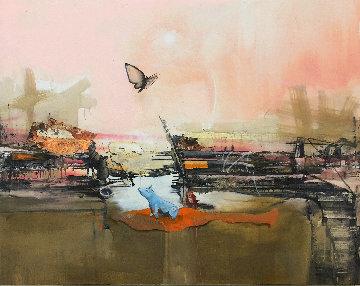 Hybrid 2015 48x60 Original Painting - Marcus Antonius Jansen