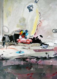 Dreams 2007 38x50 Original Painting - Marcus Antonius Jansen