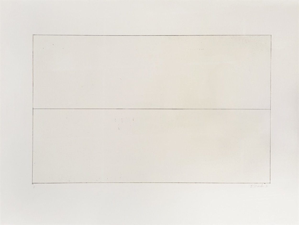 Untitled, From The 10 Days Suite 1971 AP (Early) Limited Edition Print by Brice Marden