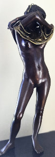 Joan II Bronze Sculpture 1980 28 in Sculpture - Isidore Margulies