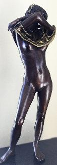 Joan II Bronze Sculpture 1980 28 in Sculpture by Isidore Margulies