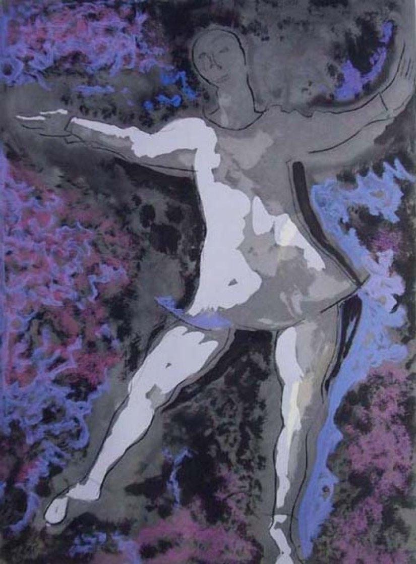 Dancer II 1977 Limited Edition Print by Marino Marini