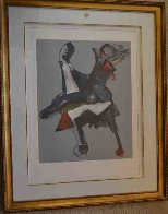 Untitled Lithograph Limited Edition Print by Marino Marini - 1