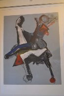 Untitled Lithograph Limited Edition Print by Marino Marini - 5