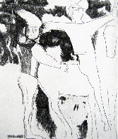Theatre Des Masques - Theater of the Masks 1956 Limited Edition Print by Marino Marini - 0