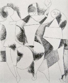 Trio 1954 Limited Edition Print - Marino Marini