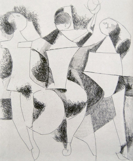 Trio 1954 Limited Edition Print by Marino Marini