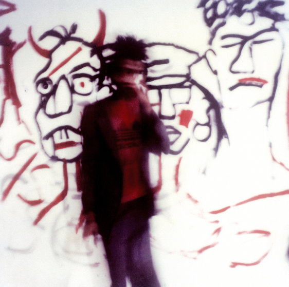 Jean Michel Basquiat Limited Edition Print by  Maripol