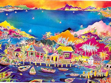 Endless Summer 1992 Limited Edition Print by Jennifer Markes