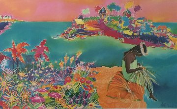 Maui Cliff Dweller 1990 Limited Edition Print - Jennifer Markes