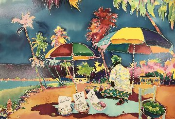 Beach Merchant Limited Edition Print - Jennifer Markes