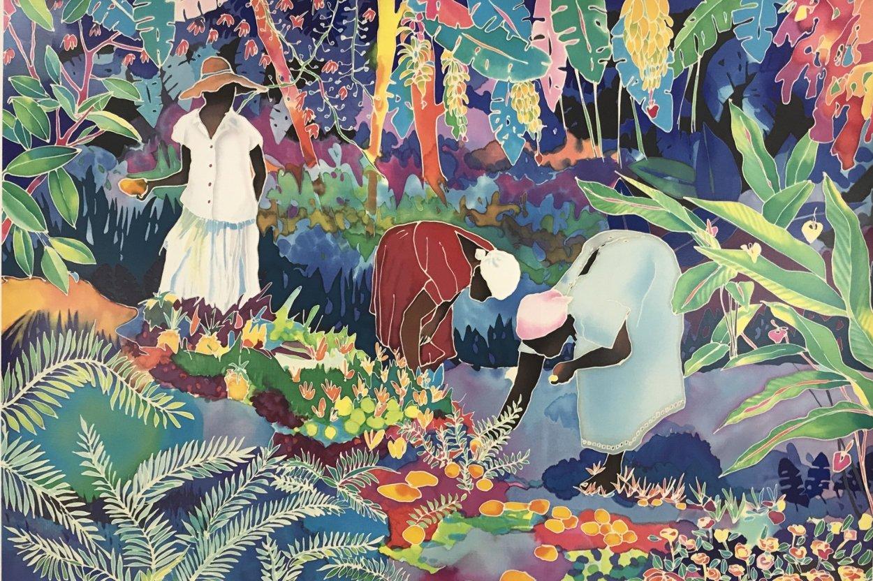 Tropical Harvest Limited Edition Print by Jennifer Markes