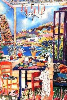 Breakfast in Tripoli 1999 (Lebanon) Limited Edition Print - Jennifer Markes