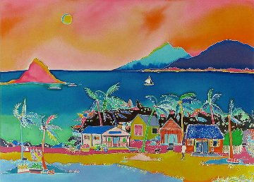 Coconut Bay 2010 Limited Edition Print - Jennifer Markes
