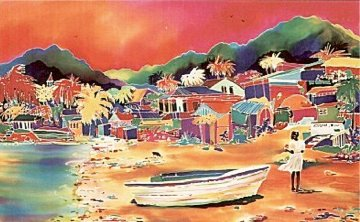 Echo Lagoon 1990 Limited Edition Print by Jennifer Markes