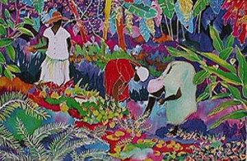 Tropical Harvest 1990 Limited Edition Print by Jennifer Markes