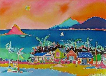 Coconut Bay Limited Edition Print by Jennifer Markes
