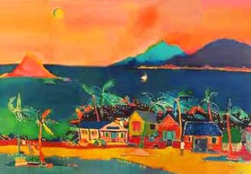 Coconut Bay 1990 Limited Edition Print - Jennifer Markes