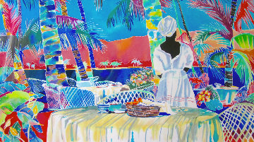 Jacmel Morning 1985 Limited Edition Print - Jennifer Markes